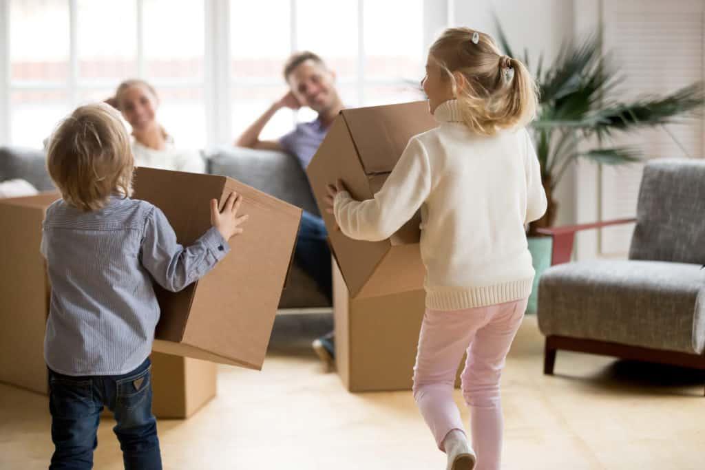 coût d'un déménagement à l'international
